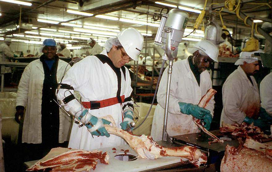 meat packing industry There are many serious safety and health hazards in the meat packing industry these hazards include exposure to high noise levels, dangerous equipment, slippery floors, musculoskeletal disorders, and hazardous chemicals (including ammonia that is used as a refrigerant.